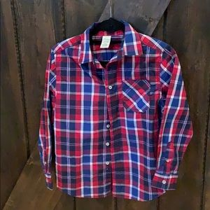 Faded Glory button down long sleeve top